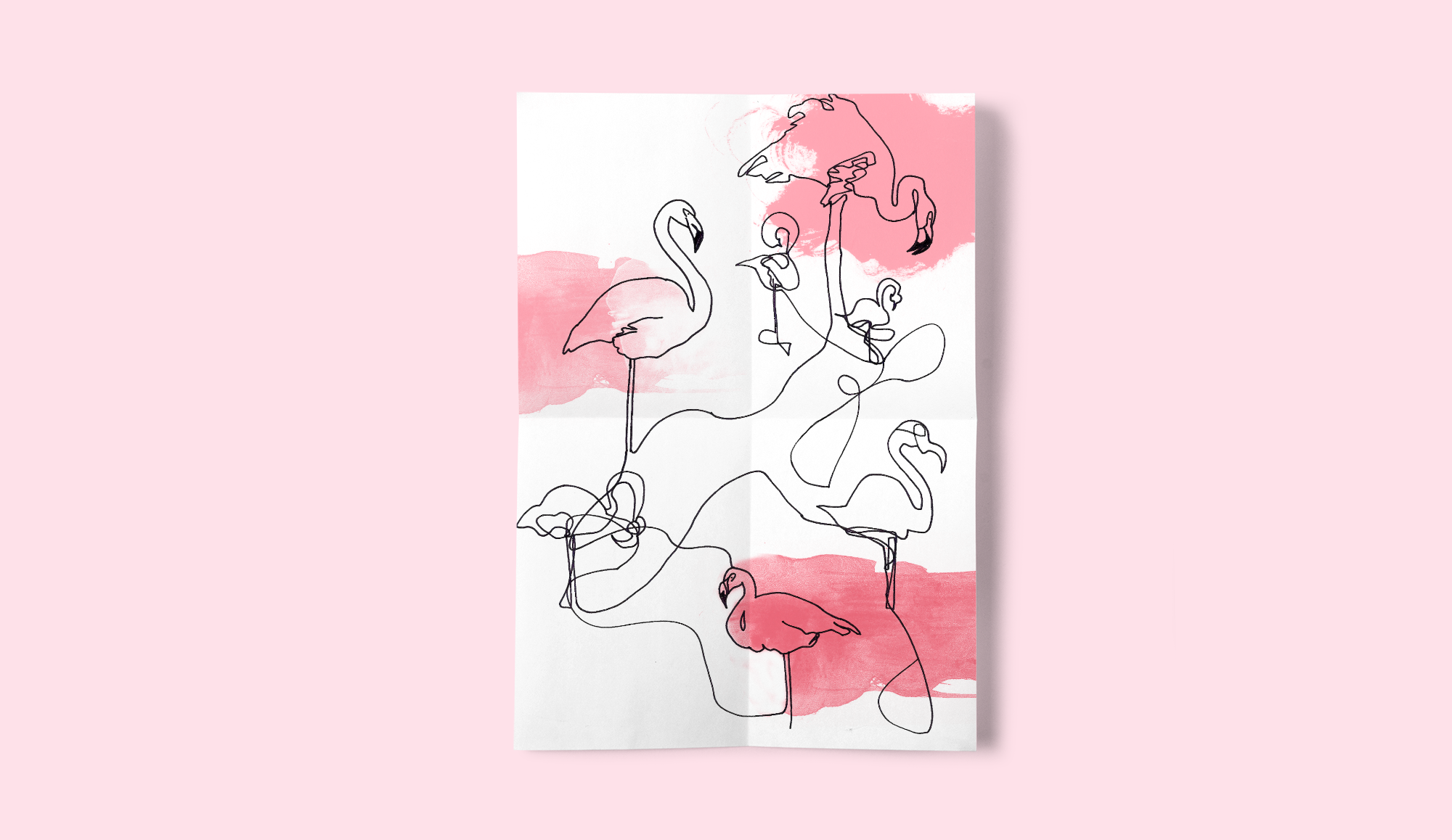 Flamingo-Full-Illustration-ElmiDesign