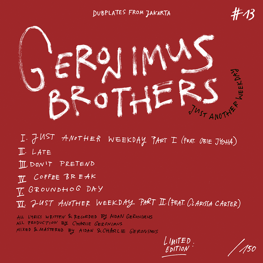 GeronimusbrothersLabel_Jakarta Records_ElmiDesign